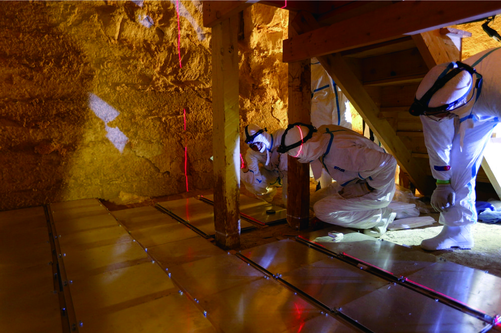 Research of Egyptian Pyramids with Cosmic ray Imaging